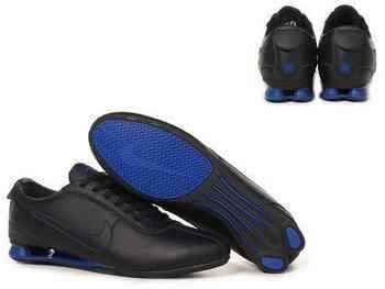 new style 99d4f 864ec Chaussures Nike Shox R3 Homme N13 Bleu Noir