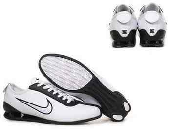 premium selection 3c8d3 f293a Chaussures Nike Shox R3 Homme N12 Noir Blanc