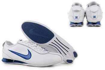 reputable site 14ed8 a411c Chaussures Nike Shox R3 Homme N20 Bleu Blanc