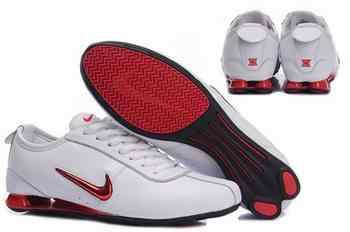 best website bd60c 58d4c Chaussures Nike Shox R3 Homme N14 Rouge Blanc