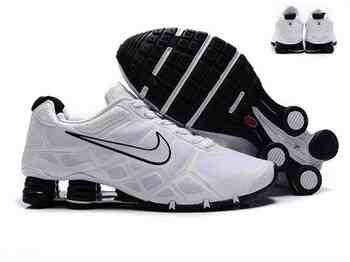 best sneakers 32870 d493d Chaussures Nike Shox Turbo Homme S40 Noir Blanc