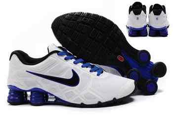new styles 2a948 eddb1 Chaussures Nike Shox Turbo Homme S9 Bleu Blanc