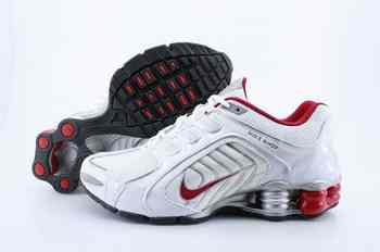 huge discount 90148 22ba5 Chaussures Nike Shox R5 Homme S6 Blanc Rouge