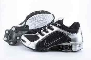 sports shoes d3537 500f8 Chaussures Nike Shox R5 Homme S4 Noir Blanc