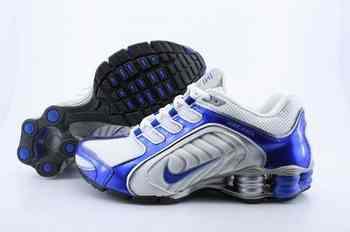 brand new 3ec8f 8fdff Chaussures Nike Shox R5 Homme S3 Bleu Blanc