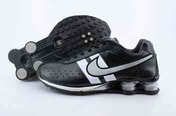 free shipping 2e3b3 1d120 Chaussures Nike Shox R4 Homme H15 Noir Blanc