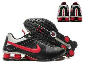 reputable site 4bf47 38329 Chaussures Nike Shox R4 Homme H3 Rouge Noir