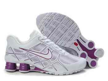 free shipping 086cb 56401 Chaussures Nike Shox Turbot Femme N16 Violet Blanc