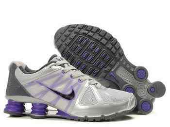 promo code 80d5c 42f26 Chaussures Nike Shox Turbot Femme N21 Violet Blanc