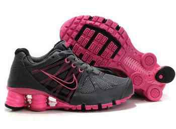 save off 80167 dba9c Chaussures Nike Shox Turbot Femme N1 Rose Noir