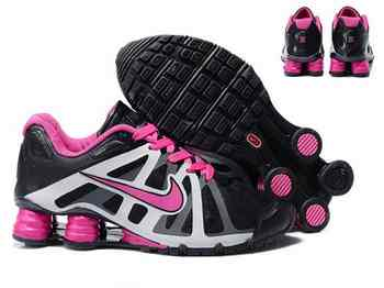 competitive price 6ef3d 7ea42 Chaussures Nike Shox Roadster Femme F4 Rose Noir