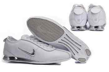 huge selection of 9a7f9 bf6a7 Chaussures Nike Shox R3 Femme R2 Blanc