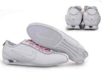 the best attitude 227d1 f571e Chaussures Nike Shox R3 Femme R1 Rose Blanc