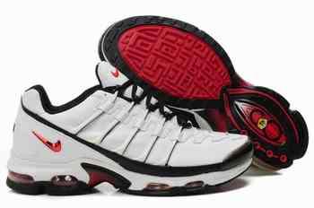 promo code ed81a 82499 Nike Air Max TN VIII Chaussures Hommes blanc noir rouge