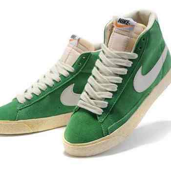 size 40 29d4a 12b05 Classe Nike Blazer VNTG Pin Vert, Blanc, A Vendre
