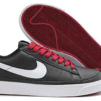 separation shoes 8aa1e 242fa Acheter Nike Blazer Low 09 ND cuir Chaussures Hommes Noir Blanc