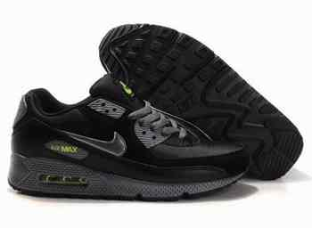 newest cd8e2 dbe8c Nike Air Max 90 Hommes Dimgrey Noir Vert