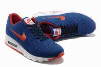 pretty nice 27802 856d7 Acheter Nike Air Max 90 Current Moire Hommes Vente Bleu Blanc