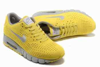buy popular ae067 1dd0f Acheter Nike Air Max 90 Current Moire Hommes En vente Gris Jaune