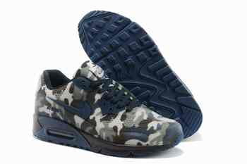 new style 5ee8c db85d Nike Air Max 90 femmes HYP KPU TPU 2014 New Camo bleu foncé