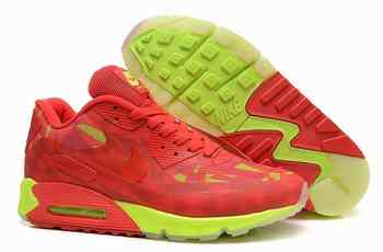 huge discount 7c6a7 5a6f4 Nike Air Max 90 Hyperfuse PRM 2014 25 anniversaire Femmes Red Gr