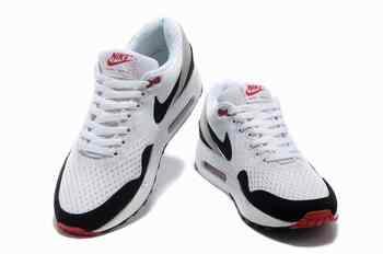 best loved 299c0 4ca63 ... 2013 Nike Air Max 1 Chaussures Hommes Blanc Noir